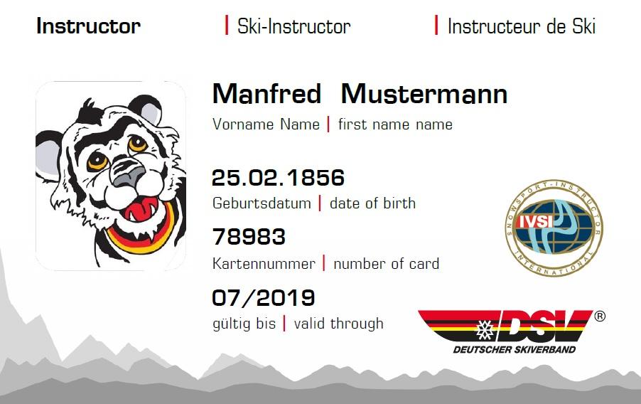 Dsv Card Bayerischer Skiverband Ev