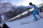 Skifliegen 2013 - Team Tour - Einfliegen von der Heini-Klopfer-Skiflugschanze - Oberstdorf - Vorspringer - Tobias Bogner