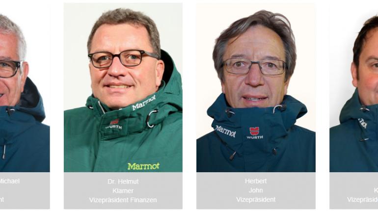 Das alte und neue SNBGER-Präsidium