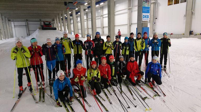 Training mit Weltklassesportlern