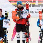 Siegerinnen Mädchen Slalom