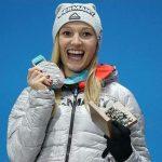 Silbermedaillengewinnerin Katharina Althaus