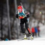 Laura Dahlmeier auf dem Weg zu Olympiagold