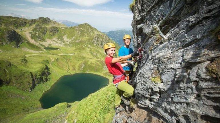 Klettersteig Madrisella : Klettersteig u bayerischer skiverband e v