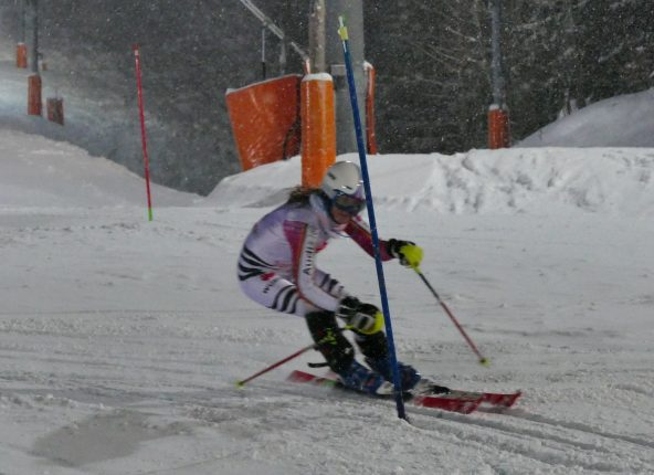 Doppelsiegerin Franziska Häusl