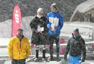 Die Sieger Franziska Häusl und Simon Bolz