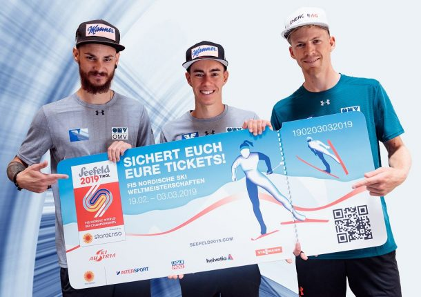 k-Skispringer Fettner, Kraft, Hayböck