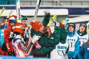 k-Team Skisprung