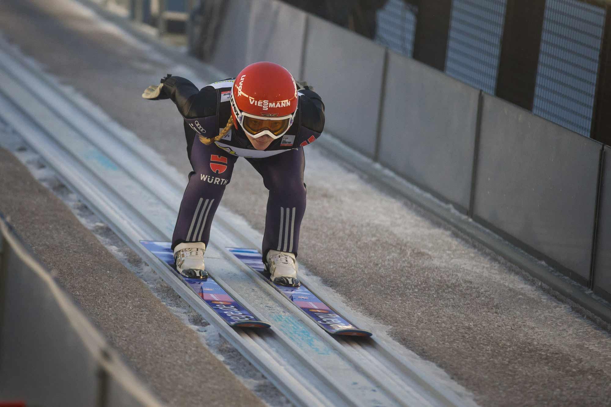 Damen Skispringen