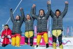 Teamwork makes the dream work! Deutsches Ski-Snowboard Cross Team holt Bronze bei den Youth Olympic Games