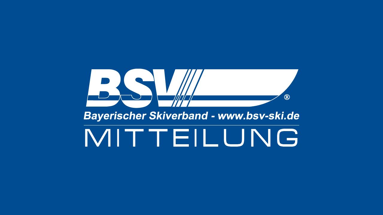 """Olympiade Dahoam – Der BSV kommt in Euren Verein mit der """"DSV-SommerSkiolympiade"""""""