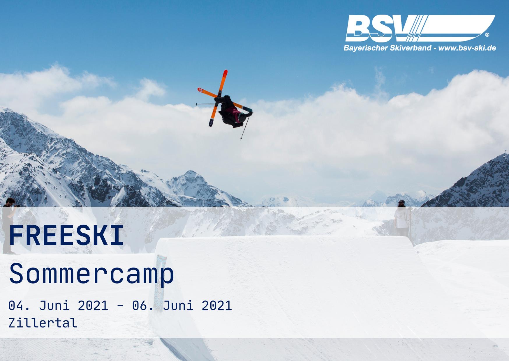 FREESKI Sommercamp