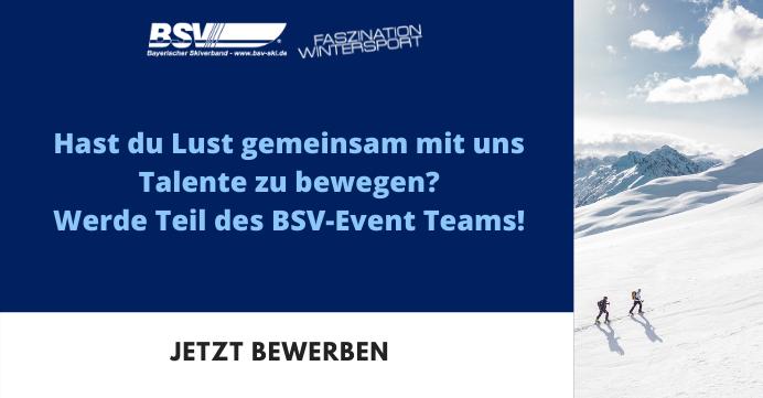 Wir suchen dich für das BSV Event-Team